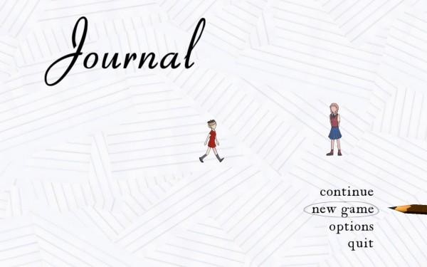 Journal Screenshot Wallpaper Title Screen