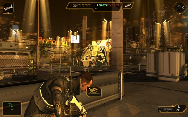 Deus Ex The Fall Review Screenshot Wallpaper Stealth