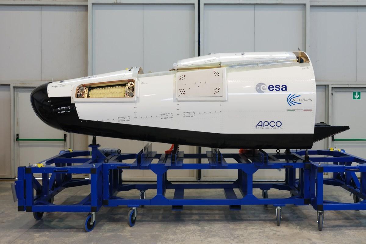 ESA IXV Full Scale Prototype