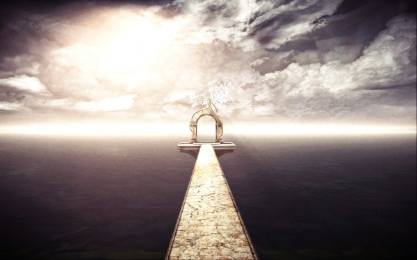 Mind Path to Thalamus Review Screenshot Wallpaper Bridge to Nowhere
