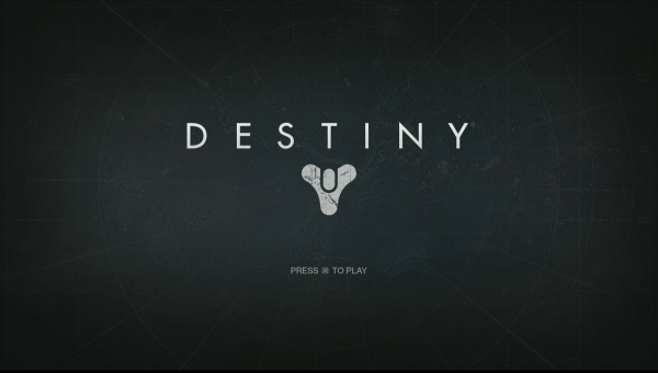 Destiny Review Screenshot Wallpaper Title Screen