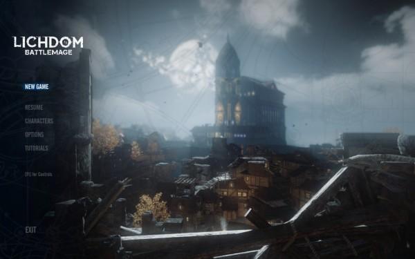 Lichdom Battlemage Review Screenshot Wallpaper Title Screen