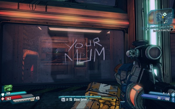 Borderlands The Pre Sequel Review Screenshot Wallpaper Your Mum