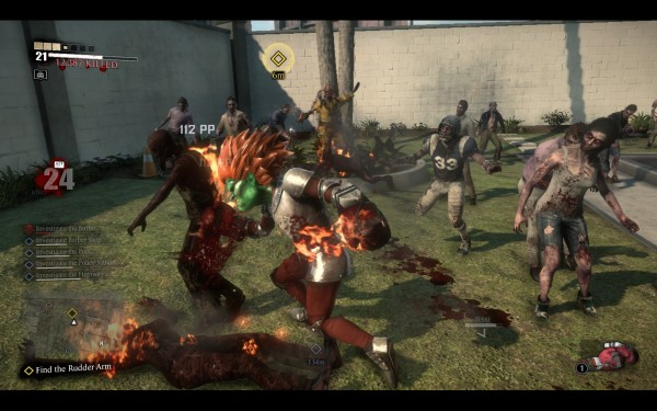 Dead Rising 3 Review Screenshot Wallpaper Blanka Fire Fists