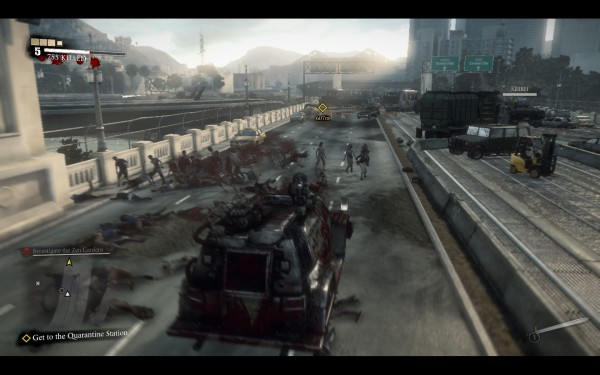 Dead Rising 3 Review Screenshot Wallpaper Turret Rig