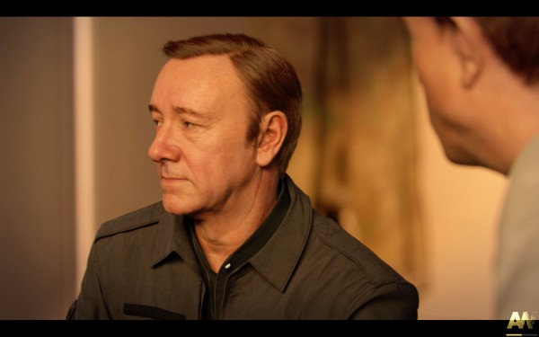 Call of Duty Advanced Warfare Screenshot Wallpaper Kevin Spacey