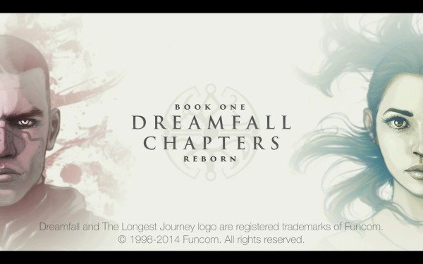 Dreamfall Chapters Review Screenshot Wallpaper Title Screen