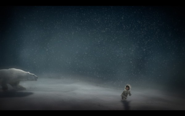 Never Alone Review Screenshot Wallpaper Polar Bear