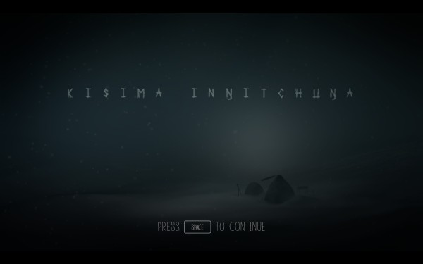 Never Alone Review Screenshot Wallpaper Title Screen