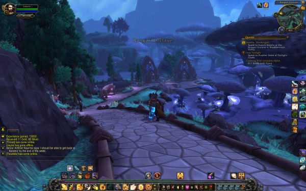 World of Warcraft Warlords of Draenro Review Screenshot Wallpaper Pretty Mushrooms