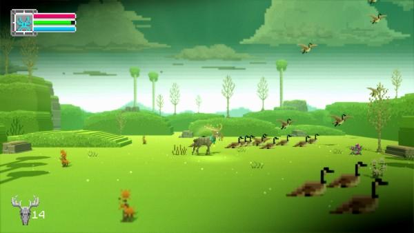 The Deer God Review Screenshot Wallpaper I am Elder