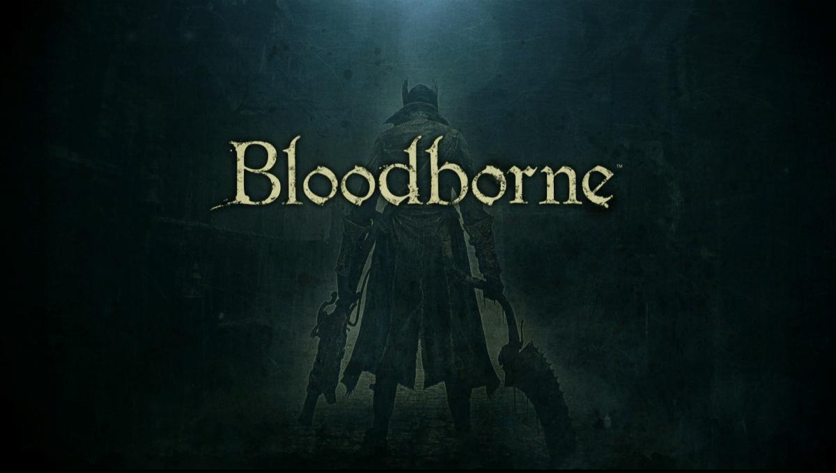 Bloodborne Review Screenshot Wallpaper Title Screen