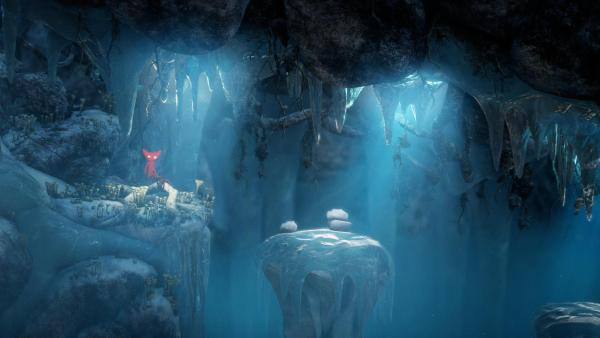 Unravel Review Screenshot Wallpaper Ice Cave