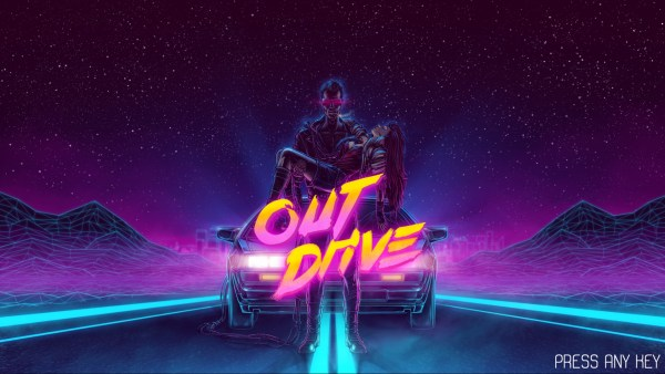 Outdrive Review Screenshot Wallpaper Title Screen