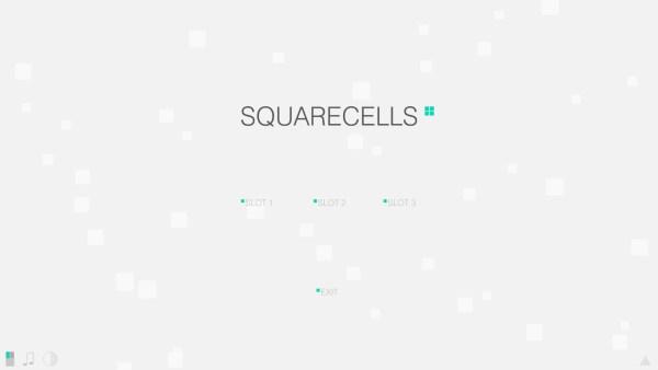SquareCells Review Screenshot Wallpaper Title Screen