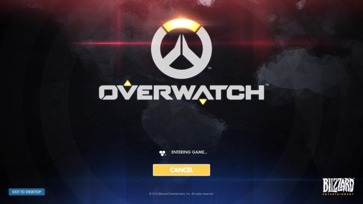 Overwatch Review Screenshot Wallpaper Title Screen