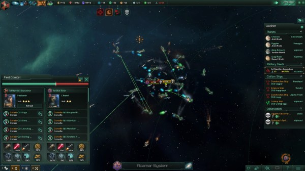 Stellaris Review Screenshot Wallpaper Battle