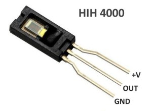 Theremino System - HIH-4000 - Humidity Sensor - Connections