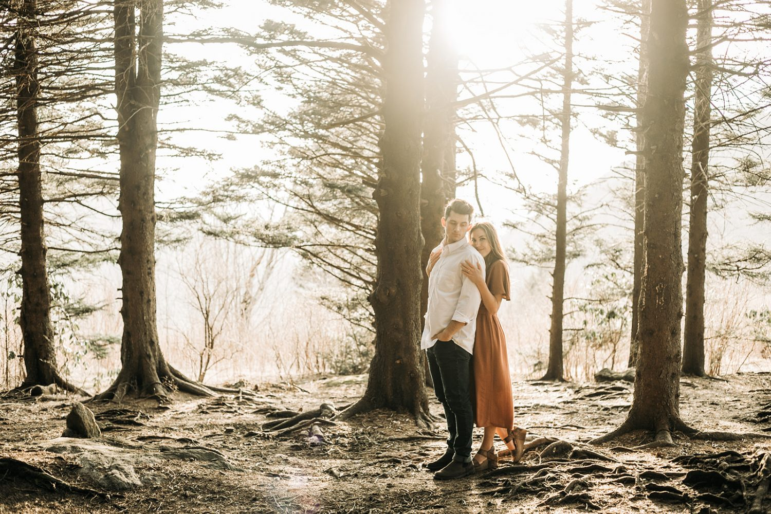 Mountain Adventure Engagement Session