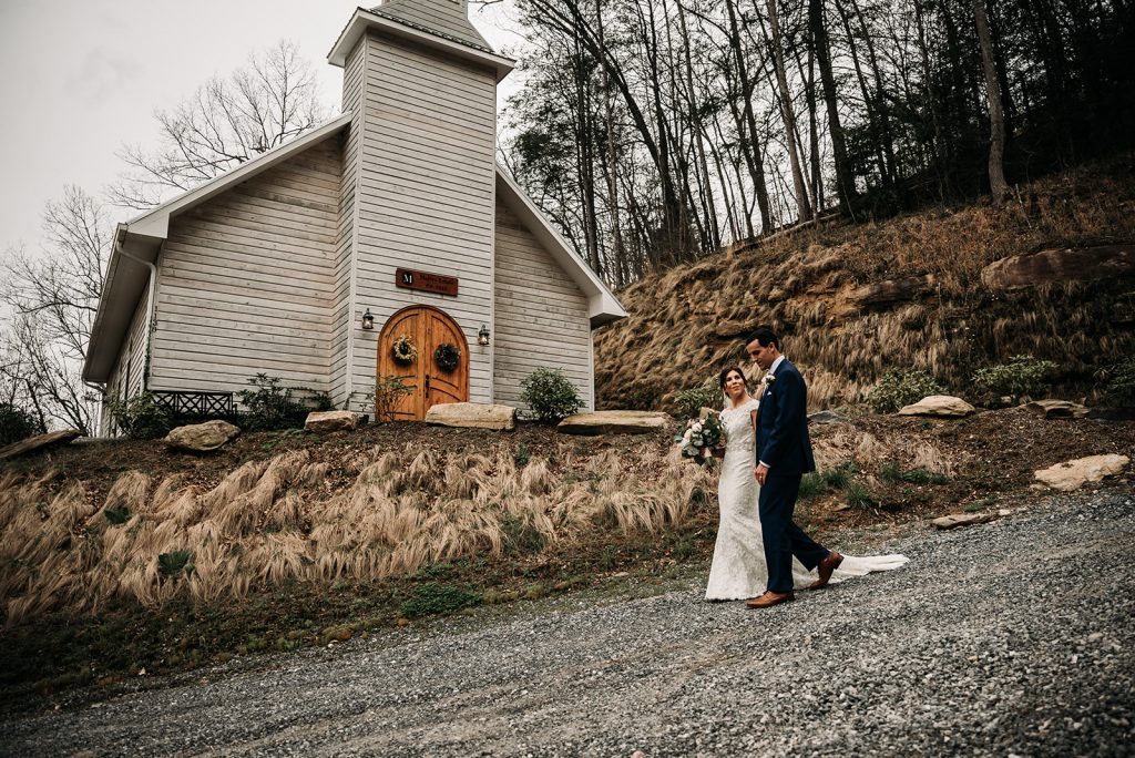 Asheville Chapel Intimate Wedding Photography