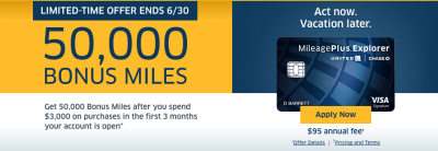 United Airlines Credit Card Offer