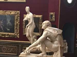 The famous Medici Venus in the Uffizi.