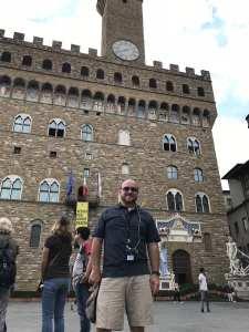 Ray at the Palazzo Vecchio