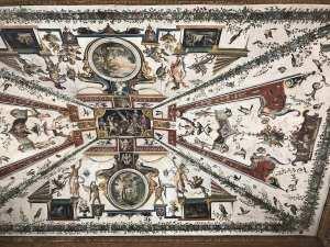 Uffizi Ceiling closeup