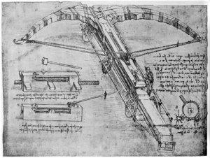 #119 – Leonardo da Vinci Part 12 – Leonardo's Giant Crossbow