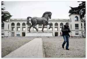 Leonardo's horse Milan
