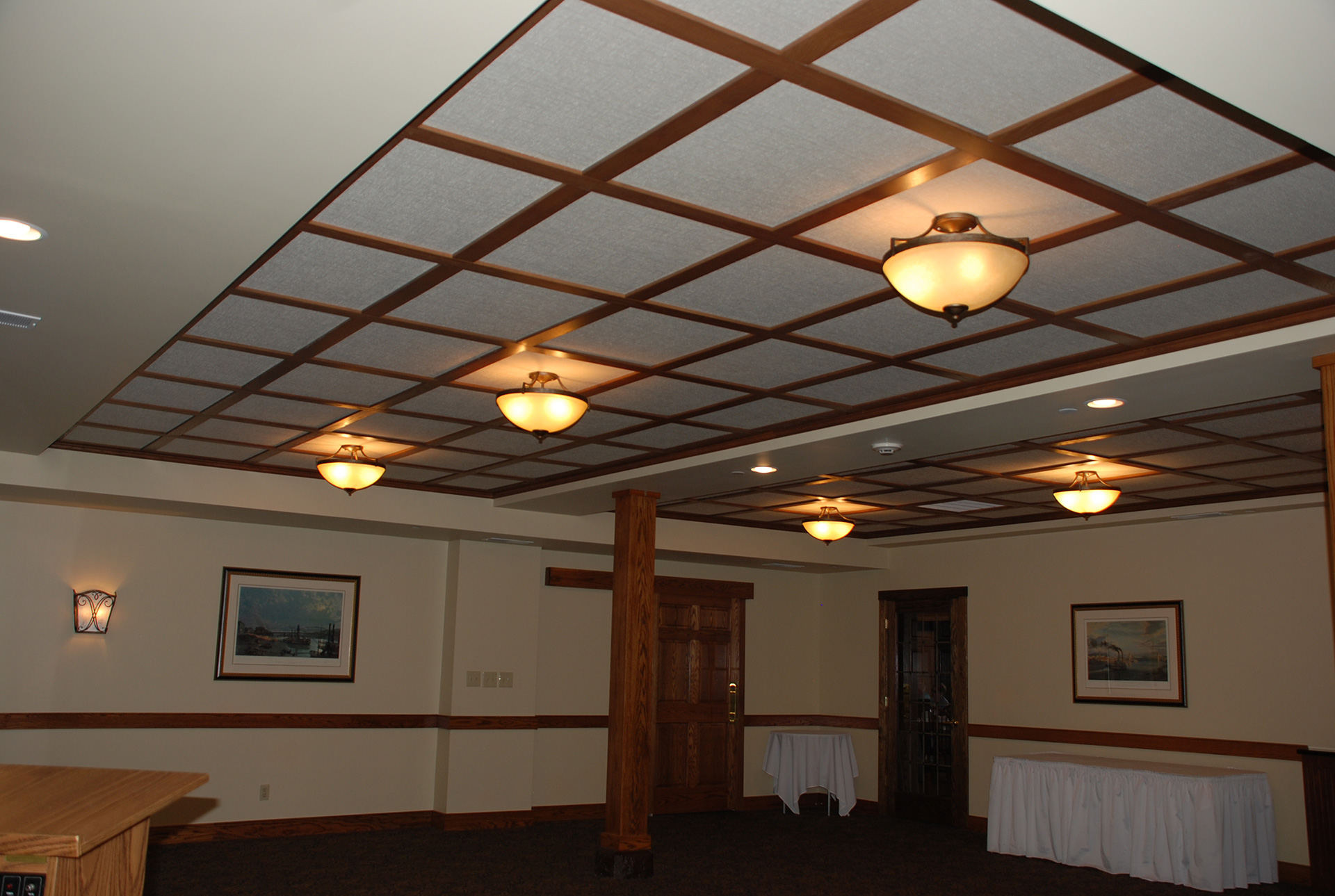 The Fastest Way To Paint Ceiling Tiles