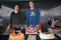 The cake bosses, from left, are Stephonie Mentz and Jako Jacobs Picture: ABONGILE SOLUNDWANA