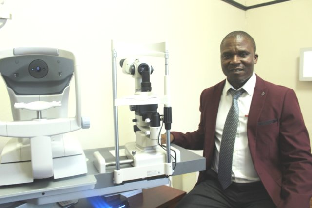 THE SEER: Dr Gcobani Tuswa recently opened a practice in town. He will be part of the Life Queenstown Private Hospital Picture: NTSIKELELO QOYO