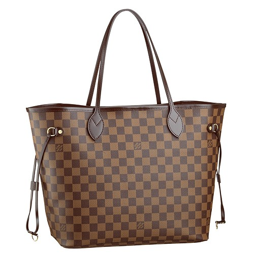 BEST SELLER: Louis Vuitton Neverfull MM Damier Replica Bag