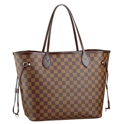BEST SELLER: Louis Vuitton Neverfull MM Damier Replica Bag