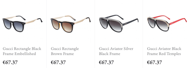 Buy gucci replica sunglasses online