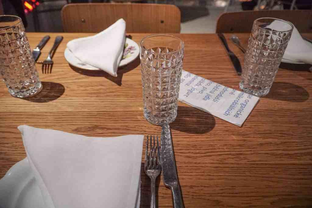 Dining at Eska in Prague   The Republic of Rose