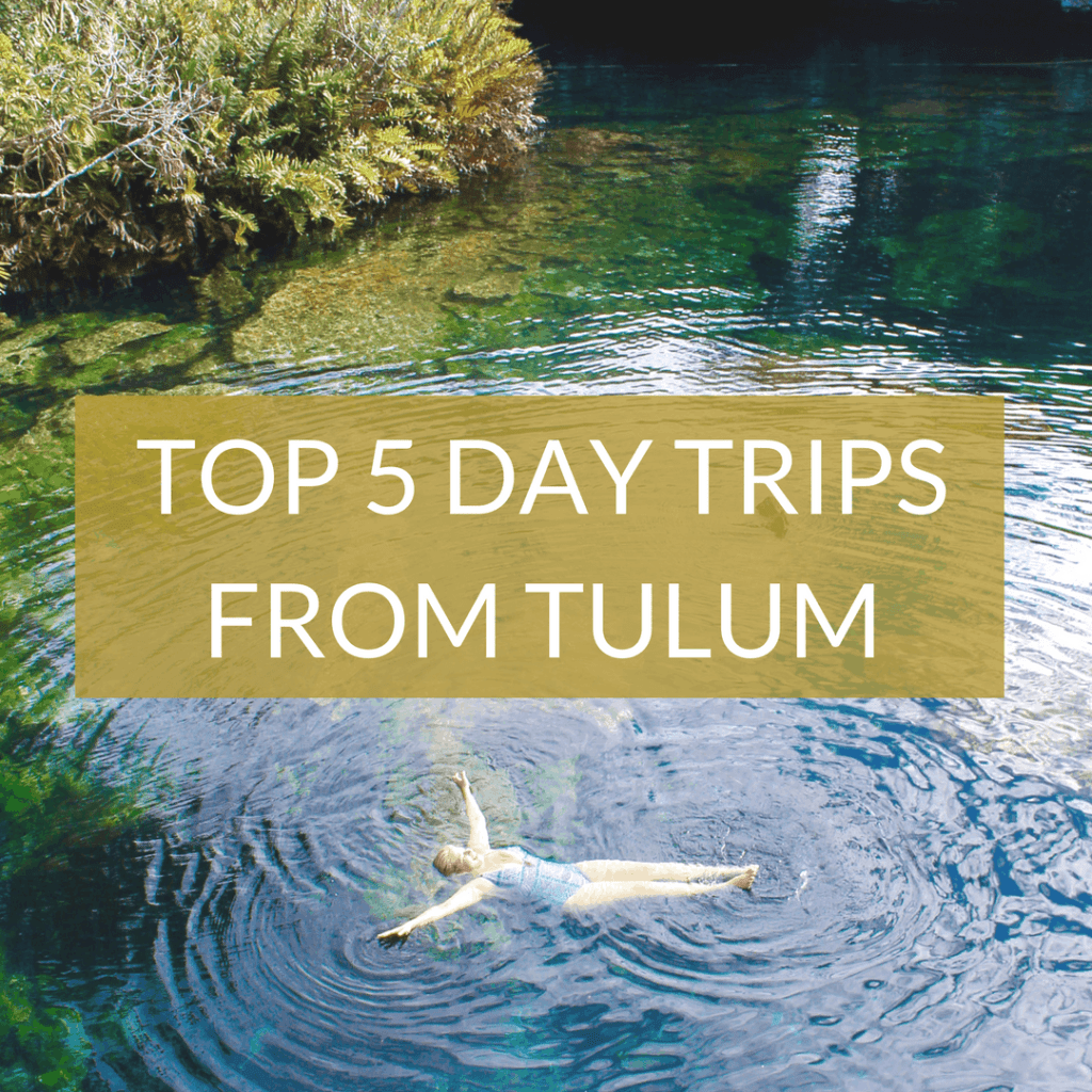 TOP 5 DAY TRIPS FROM TULUM MEXICO | The Republic of Rose