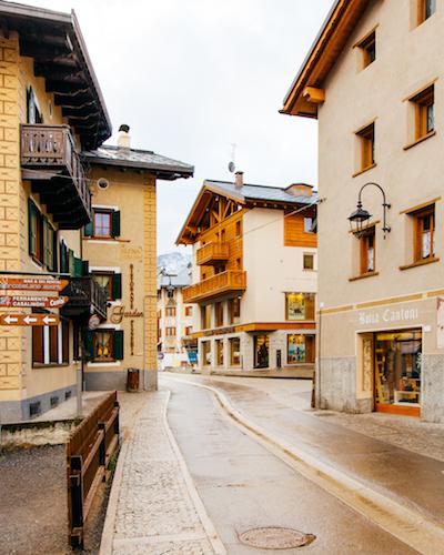 centro storico di Livigno