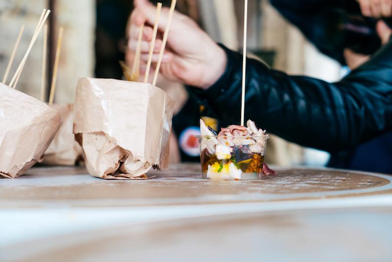 Streaty Food Tour Catania Pesce