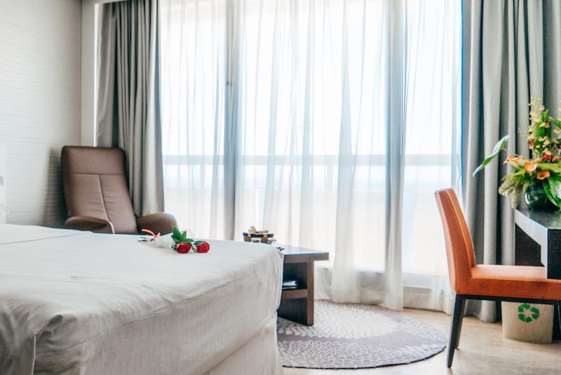La stanza allo Sheraton Tel Aviv - Vista mare