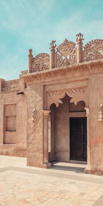 Dubai Old Town Al Fahidi Historical Neighbourhood