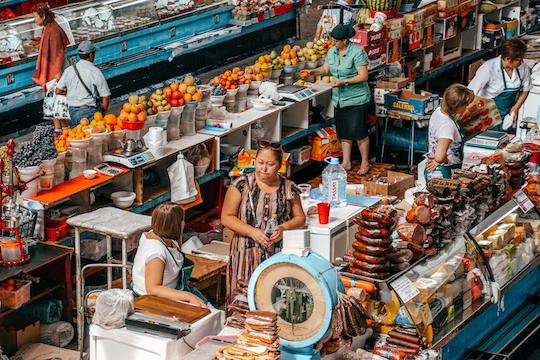 Green Bazaar Almaty Kazakistan