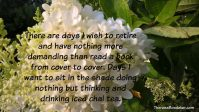 Comforts of Tasks Quote