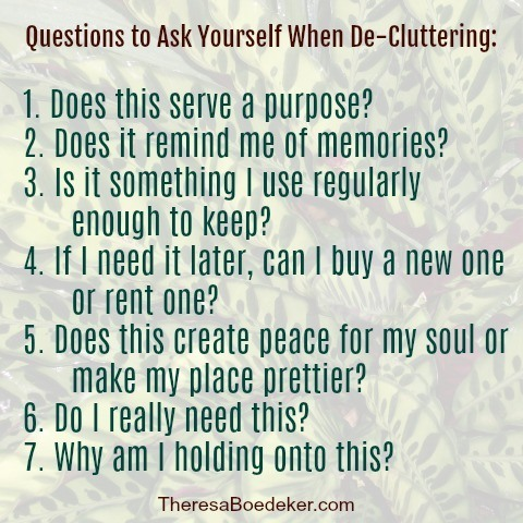 Decluttering our house can teach us lessons about ourselves. Here's what I learned through purging my house.