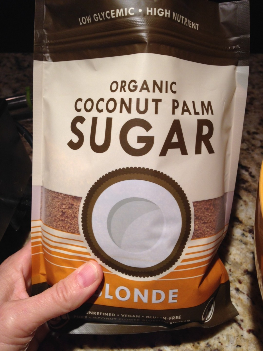 coconut sugar bag