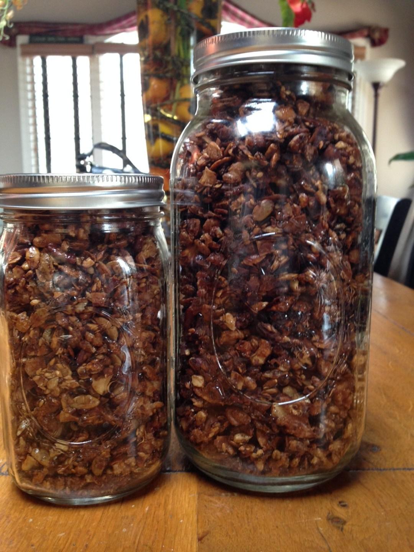 chai granola dun jars