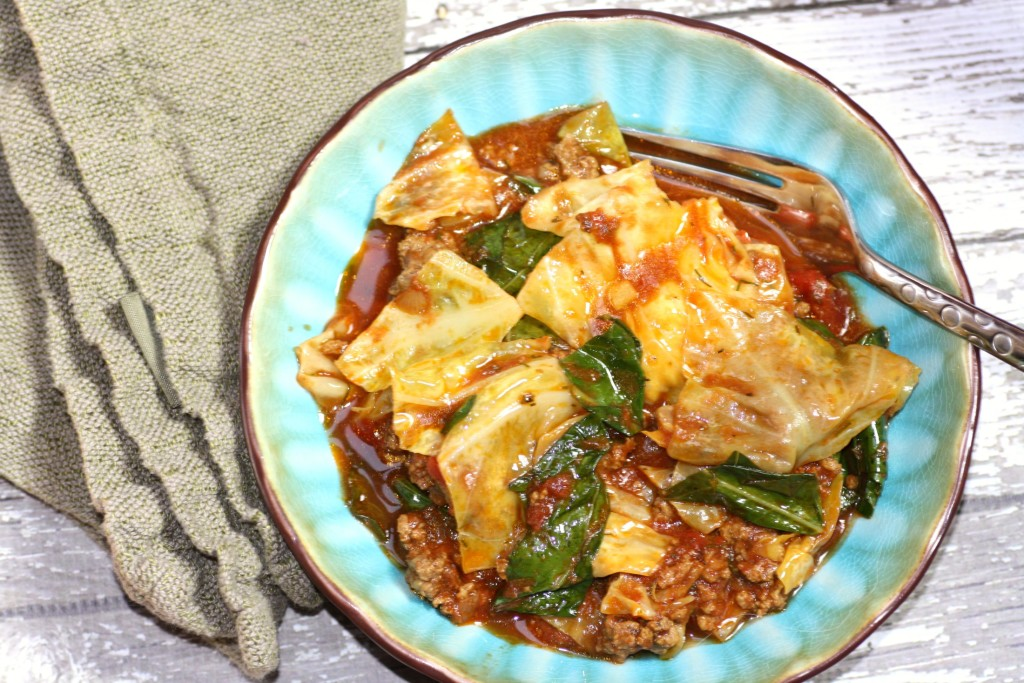Unstuffed Cabbage (closer bowl)