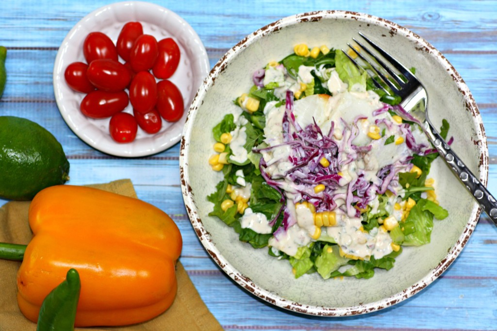 Fish Taco Salad1
