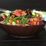 Perfect  Autumn  Vegan Salad